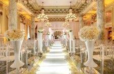 Decoração de Casamento Branco e Dourado
