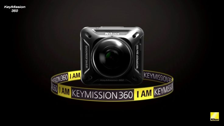 Nikon KeyMission 360, an all-new action camera