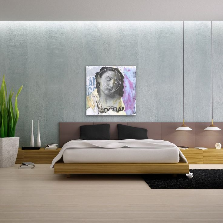 My 'Sacred' art print would look great in your bedroom.