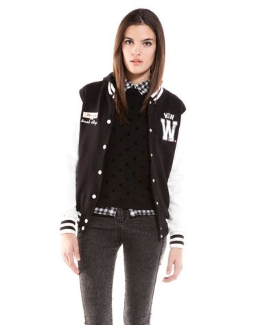 Bershka Turkey - BSK baseball jacket
