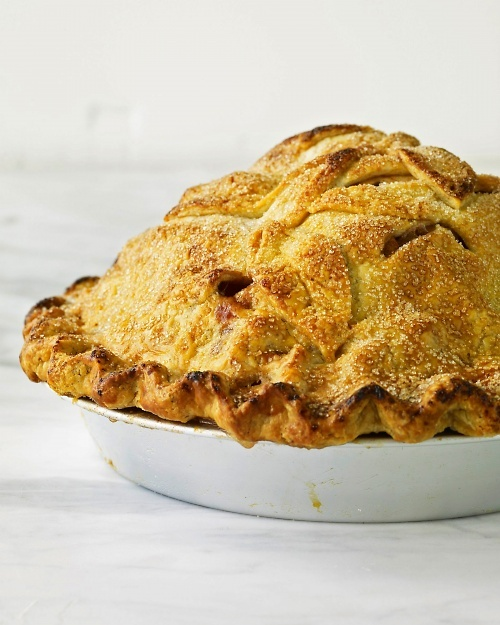Martha Stewart's Mile-High Apple Pie.  The best apple pie I ever made.  It was insane!