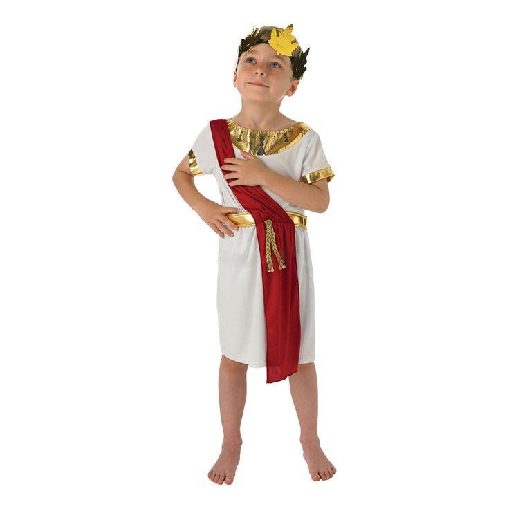 Romersk Pojke Barn Maskeraddräkt