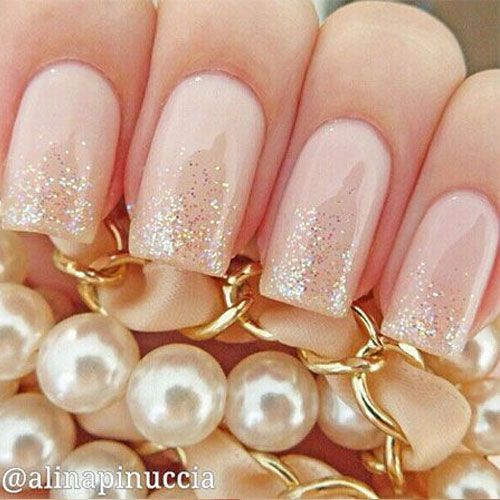 41 Wedding Nail Art Designs for Brides #nailart2015 #weddingnails #bridenails2015                                                                                                                                                     Mais