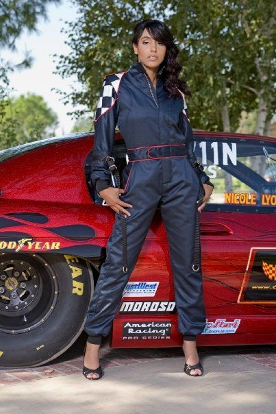 nicole lyon professional auto drag racer-she is one of my idols!