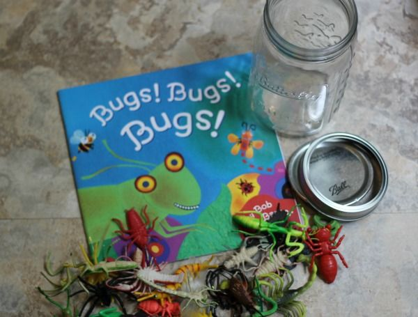 Bug Activity Jar with 7 Bug Activities