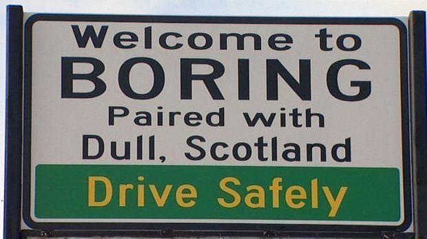 Is Boring, Oregon, actually boring?