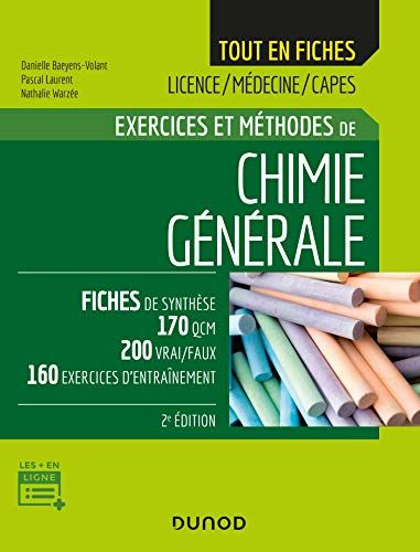 Lire Pdf Chimie Generale 2e Ed Exercices Et Methodes Exercices Et Methodes Pdf Livre Ebook France Par Broche Livre Pdf Gratuit Developpement