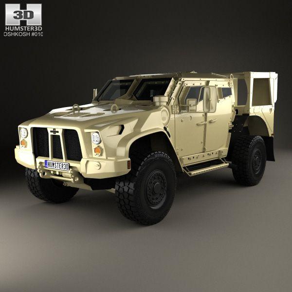 Oshkosh L-ATV 2011 3d model from Humster3D.com.