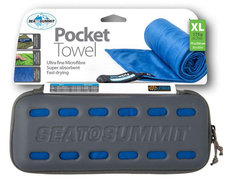 Sea to Summit Pocket Towel XLarge | Hanibal sport