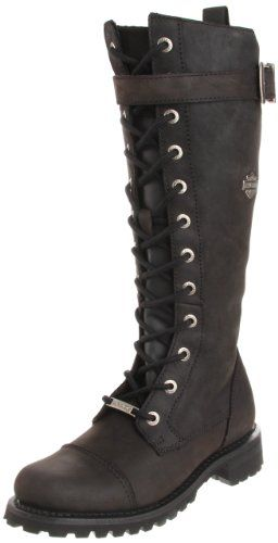 Amazon.com: Harley-Davidson Women's Savannah Motorcycle Boot: Shoes