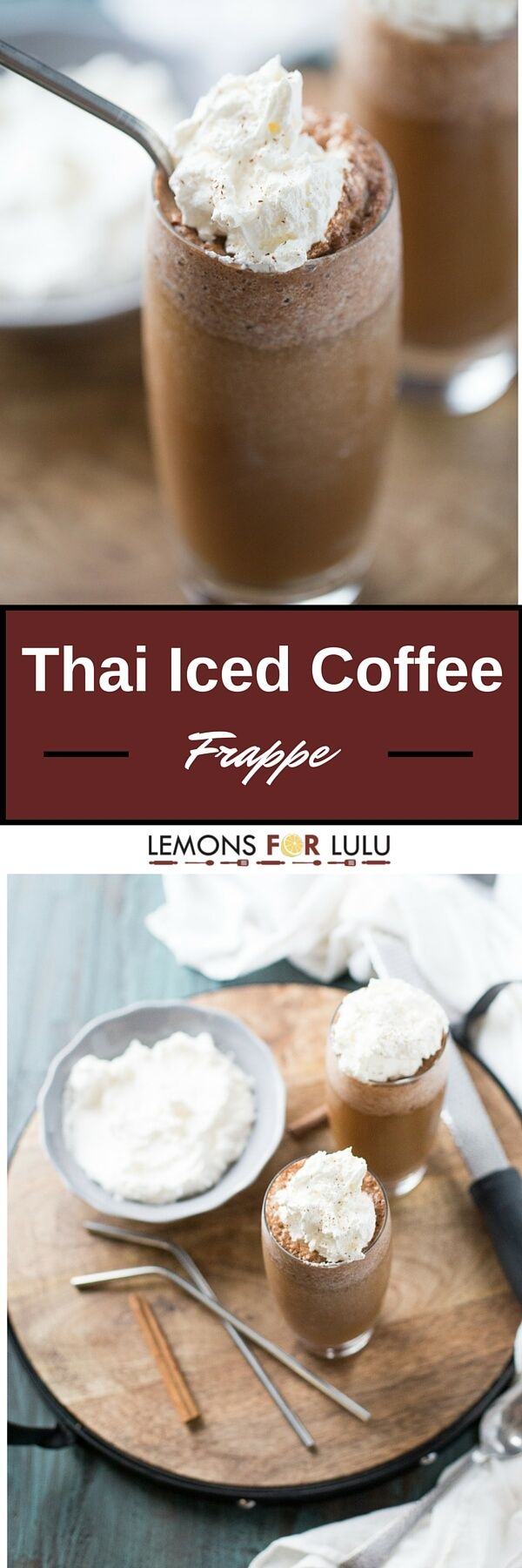 Thai Iced Coffee will you blow you away! This cook, frothy drink ...