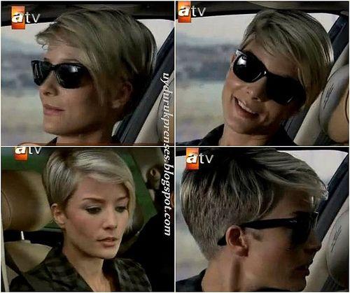 Turkish actress Bade Iscil - HAIR!!