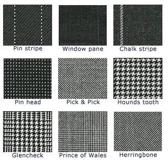 Woven Fabric's - geweven dessins.