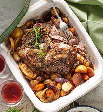 Slow-roast lamb shoulder recipe - Slow-roast lamb shoulder - Yahoo! New Zealand Food