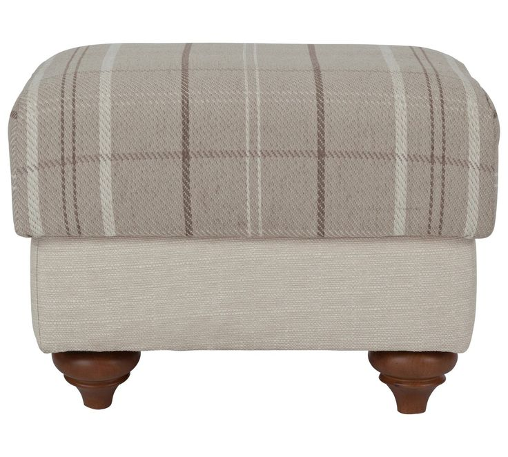 Buy Heart of House Argyll Storage Footstool - Mink / Cream at Argos.co.uk - Your Online Shop for Footstools, Living room furniture, Home and garden.