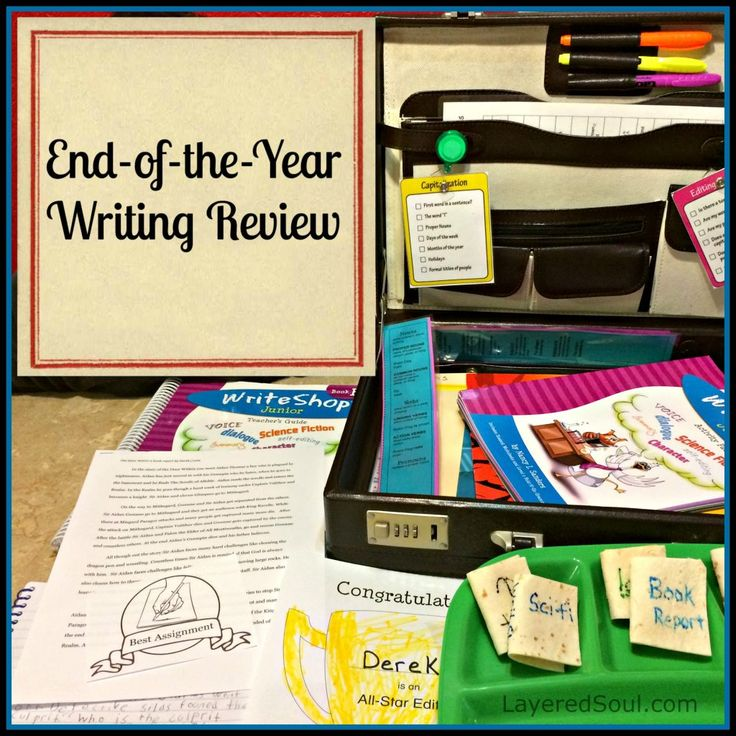 End-of-the-Year Writing Review with WriteShop - Layered Soul Homeschool