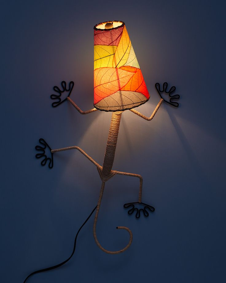 Gecko Wall Sconce  #uncommongoods #contest