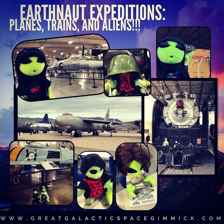 Earthnaut Expeditions Planes, Trains, and Aliens! Train