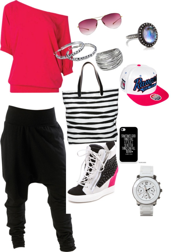 """hip hop style"" by teresagtucker ❤ liked on Polyvore"