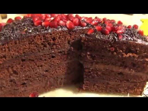 Супер шоколадный торт с шоколадным кремом. Как приготовить шоколадный торт. - YouTube