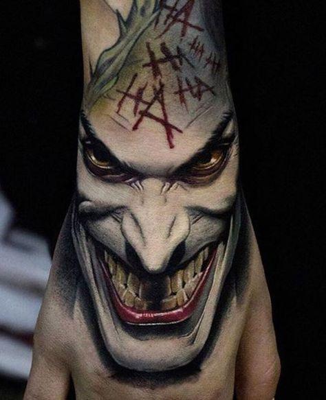 25 best ideas about joker tattoos on pinterest batman for Joker batman tattoo