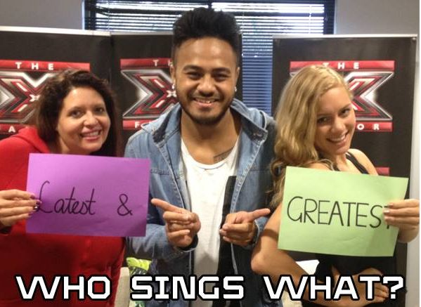 This week's theme on The X Factor Australia 2014 is Latest & Greatest! Check out the song list – but who will be singing what?! Budapest – George Ezra Hold On, We're Going Home – Drake Yoü and I– Lady Gaga Strong – London Grammar Let It Go – Demi Lovato She Came To Give …