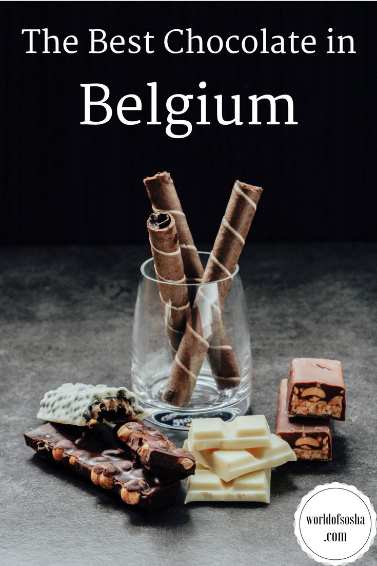 The best chocolate shop in Belgium – World of Sosha