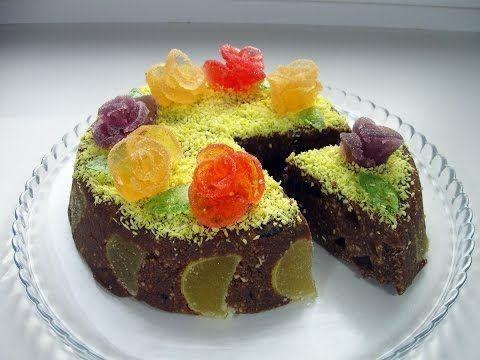 Торт без выпечки за 10 минут / Очень простой и вкусный торт из печенья /...