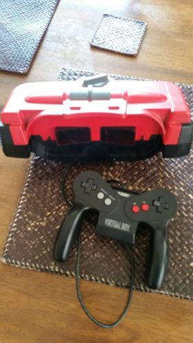 nintendo virtual boy console works good,you need a game and power source /stand: $150.00 End Date: Thursday Mar-22-2018 16:29:35 PDT Buy It…