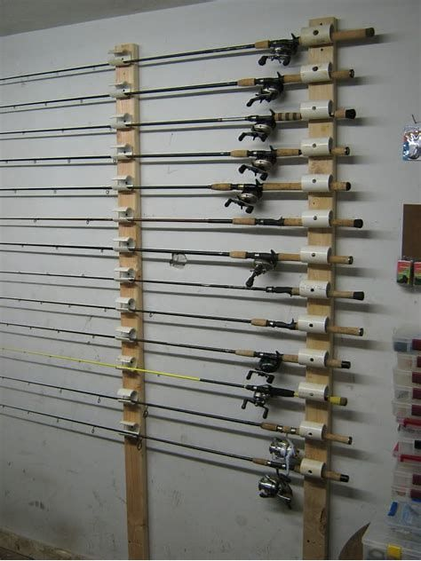 Image Result For Ceiling Mount Fishing Rod Rack Fishing