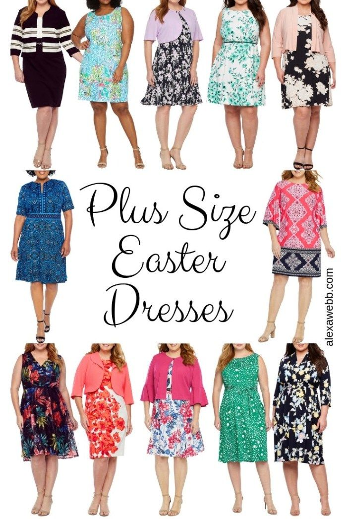12 Plus Size Easter Dresses | Fashion | Plus size easter dress ...