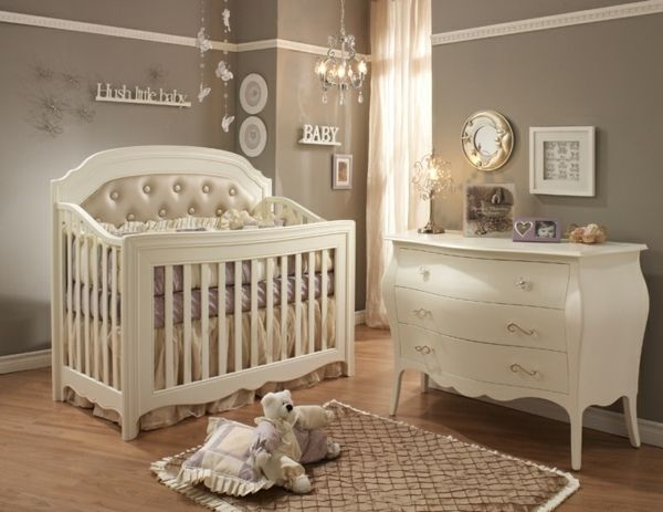 baby kinderzimmer junge weiße möbel bett kommode | babyzimmer ... - Kinderzimmer Baby