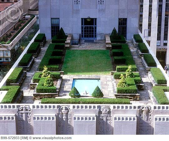 Rockefeller Center Roof Garden In A New York Minute