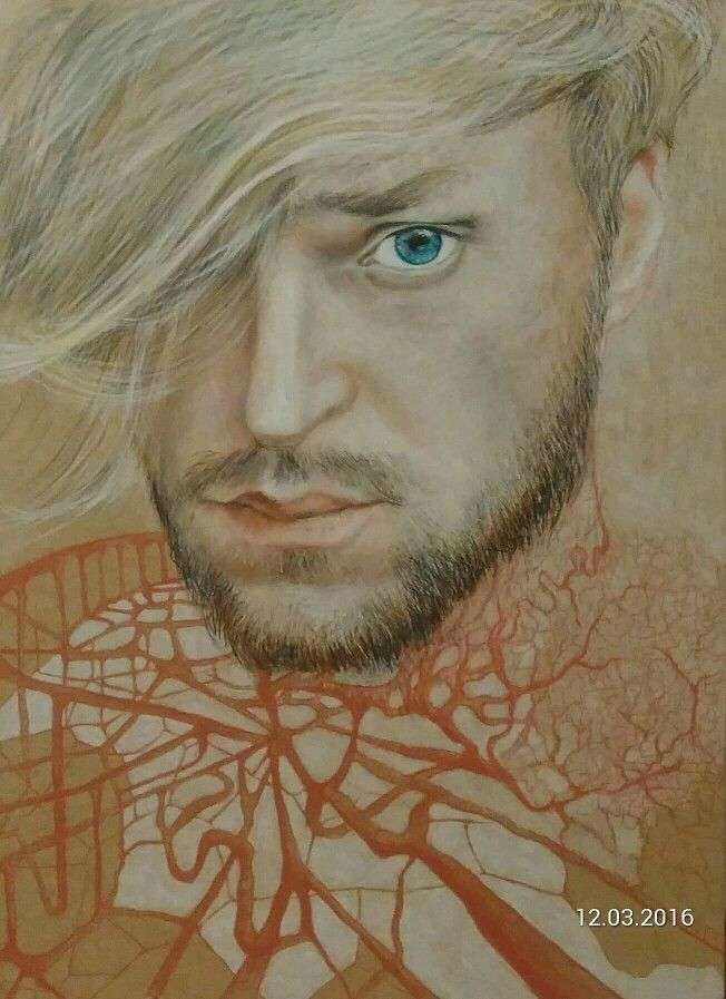 #MariuszOtta #Otta #self-portrait #Prince