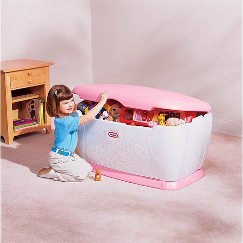 Little Tikes Victorian Kitchen: Little Tikes Giant Toy Chest, Pink $81.97 At Walmart As