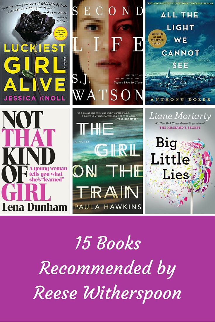 15 Books Worth Reading, According to Oscar-Winng Actress Reese Witherspoon