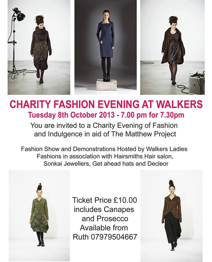 Walkers' Charity Fashion Evening