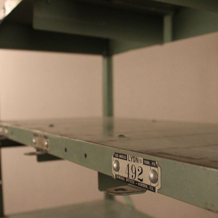 Spaulding Locker Shelves / Loot Vintage Rentals