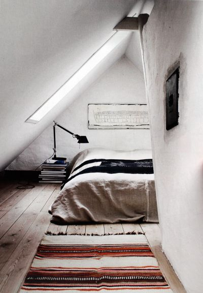 Bed mattress on floor minimal