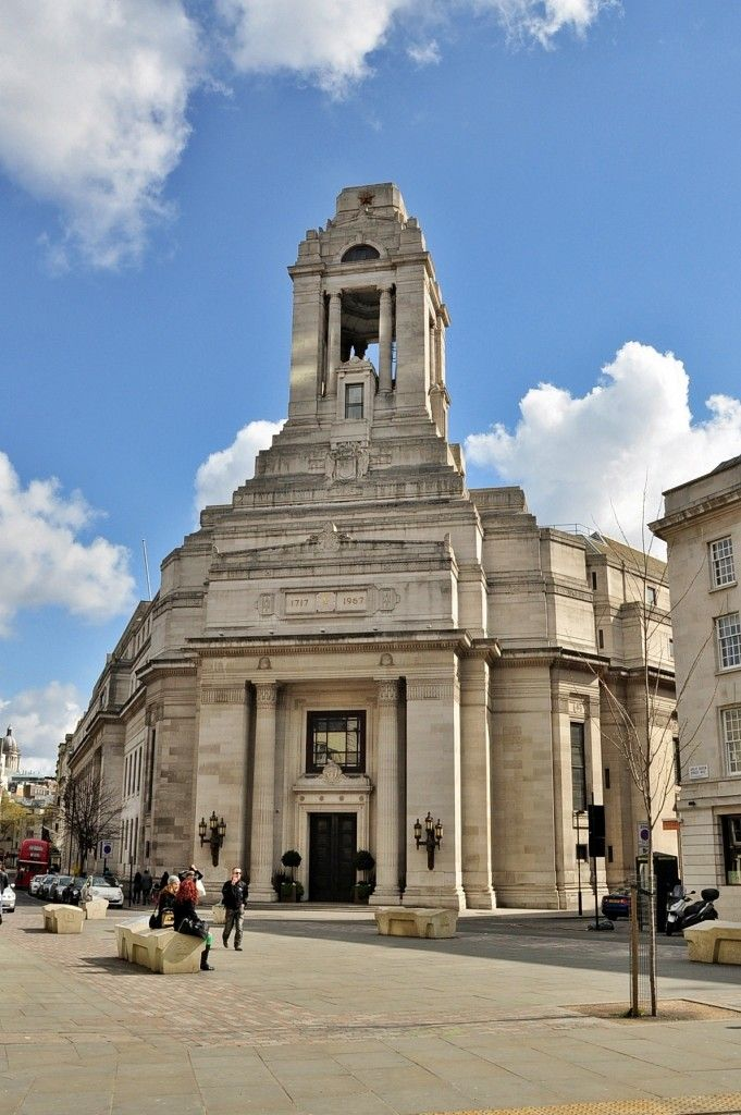 5 Famous Masonic Buildings Around The World - Grand Lodge Of England (Great Queen Streat / London)