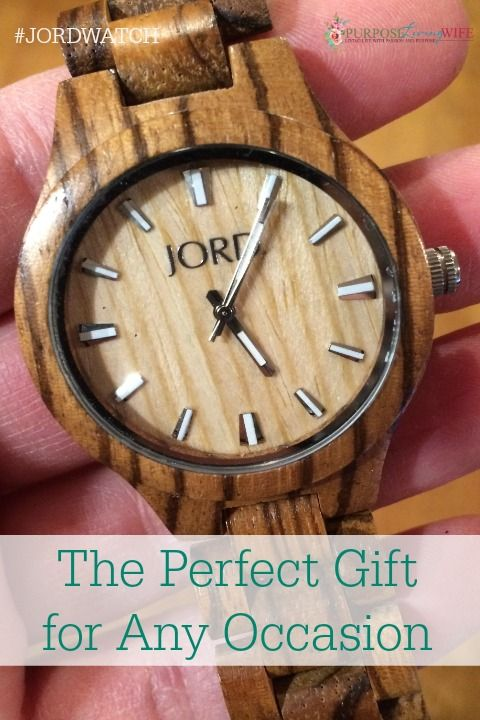 The Perfect Gift for Any Occasion Can Be Found at JORD Wood Watches purposelivingwife.com Look no further for the perfect gift for that someone special!