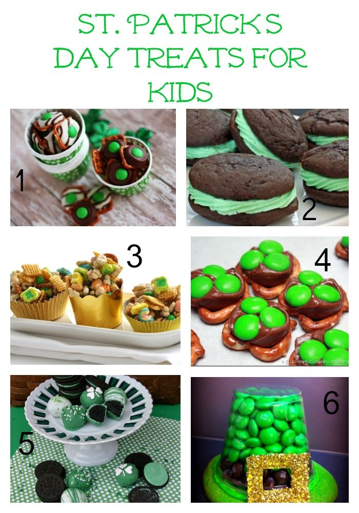 St. Patrick's Day Treats for Kids | Nutrition | Pinterest ...