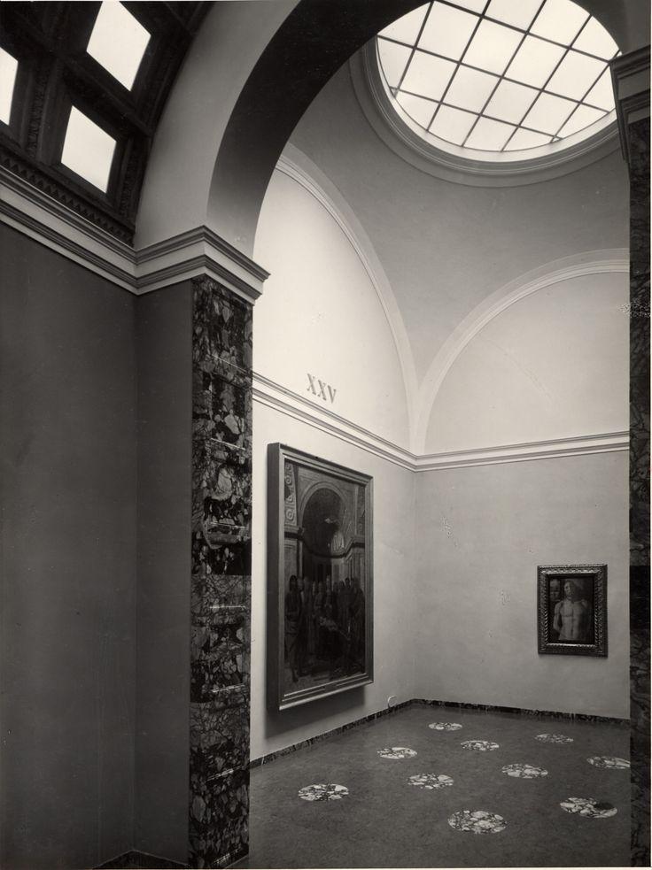 Bramante - Piero della Francesca. sala XXV #pinacotecabrera #arte