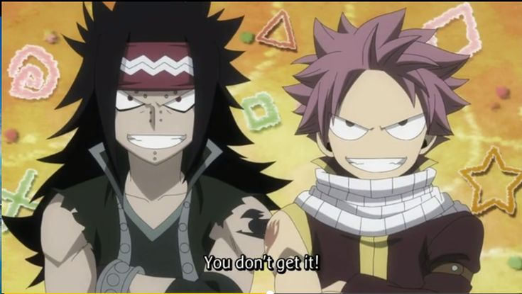 i just love it when Gajeel and Natsu agree <3  #fairy tail