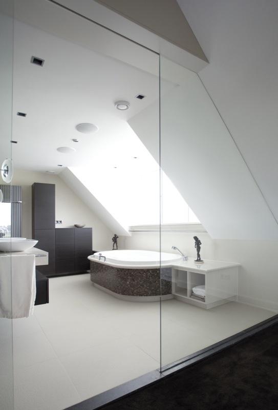 Glazen scheidingswand | Vidre glastoepassingen in samenwerking met Sjartec Badkamers | sanitair | Leiden |