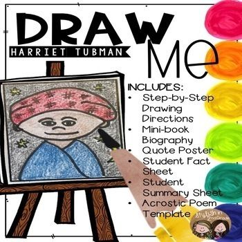 Draw Me! Harriet Tubman-Directed Drawing (CKLA, Core Knowledge