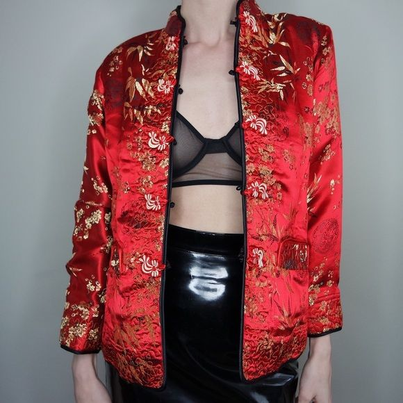 Jackets & Blazers - Reversible cheongsam oriental jacket