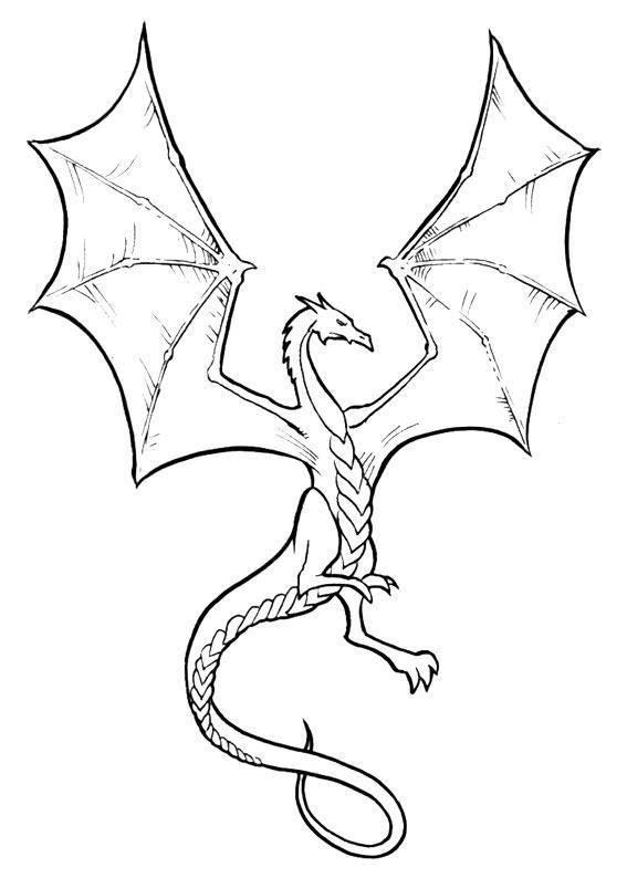 Disegni Da Colorare Draghi.30 Disegni Di Draghi Da Colorare Disegni Drago Illustrazione Drago Disegno Del Drago