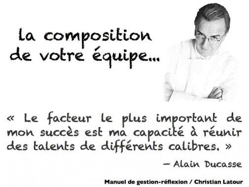 Le facteur le plus important selon Alain Ducasse… réunir des talents de différents calibres - La Revue HRI : HOTELS, RESTAURANTS et INSTITUTIONS
