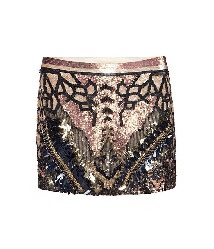Embellished Dreamcatcher Skirt, Women, Skirts, AllSaints Spitalfields